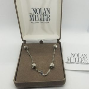 New in box HSN Nolan Miller runaround necklace